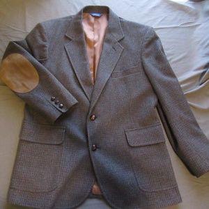 Mens Vtg Pendleton Wool Blazer / Sportcoat Sz 42